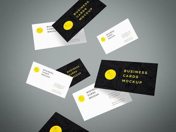 collected free business card mockup templates in modern available in psd is perfect for graphics designer to create artistic business cards