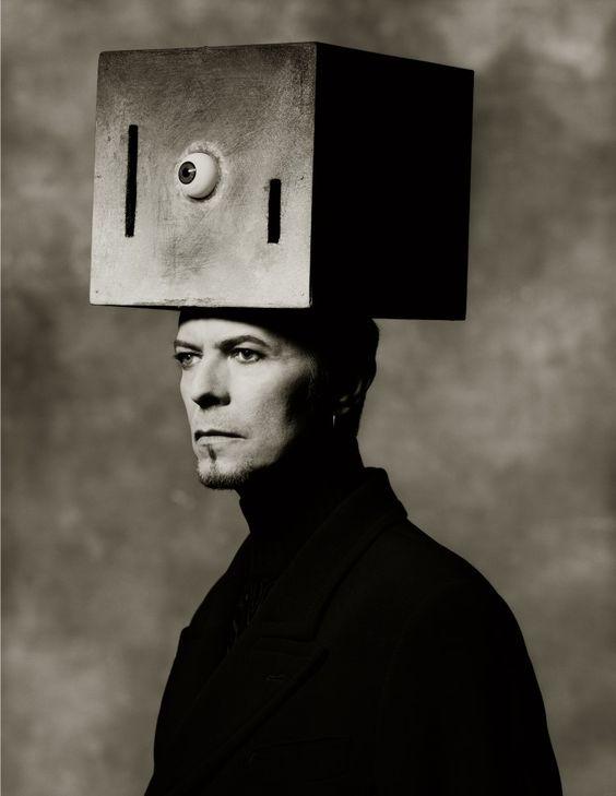 David Bowie fotografiert von Albert Watson