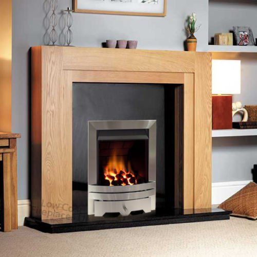 Stainless Steel Gas Fireplace Surround - Fireplace Ideas