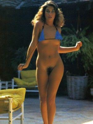 1986. Naked girl and blue bikini (p1838)