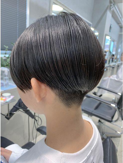 刈り上げ女子 ベリーショート ハンサムショート L048865827 テトヘアー Teto Hair のヘアカタログ ホットペッパービューティー ハンサムショート ヘアスタイル 刈り上げ女子