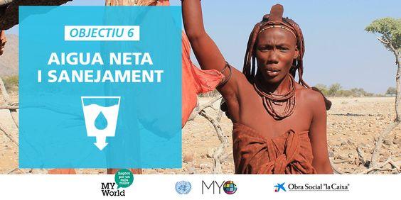 Aigua neta i sanejament: objectiu nº 06 de desenvolupament sostenible (ODS).