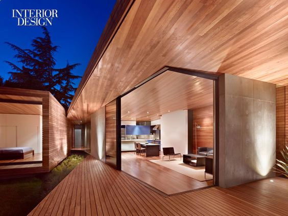 Menlo Park residence by Terry & Terry Architecture in Menlo Park, California. Photo by Bruce Damonte.