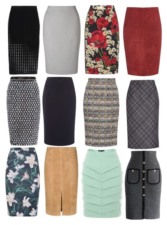 Pencil Skirts by teciane-ro on Polyvore featuring moda, Alice + Olivia, Jitrois, Dolce&Gabbana, Alexander McQueen, Michael Kors, Roland Mouret, Judy Wu, T By Alexander Wang and Ellen Tracy: