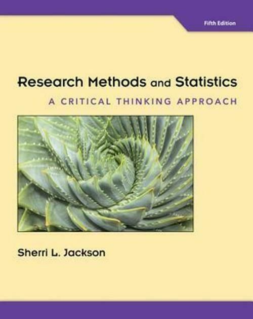 Research Methods And Statistics A Critical Thinking Approach Sherri Pdf Research Methods Critical Thinking Pdf Books