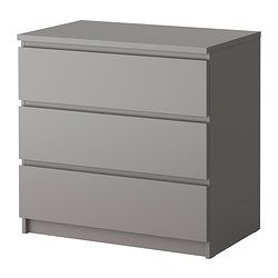 Malm commode 3 tiroirs blanc chang 39 e 3 ikea malm and running - Commode 3 tiroirs ikea ...