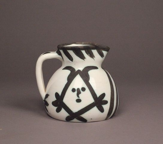 Faiance Pitcher, 1968 by Pablo Picasso