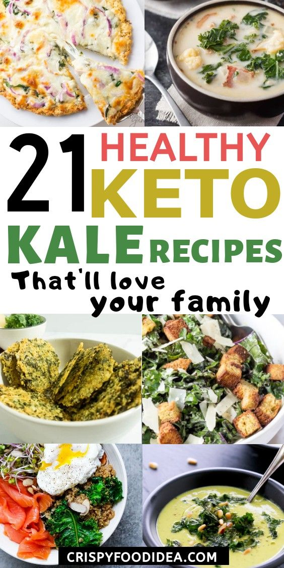 Keto Kale Recipes Pinterest