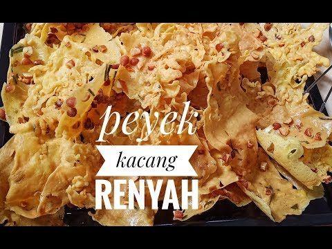 Resep Peyek Kacang Renyah Cara Mudah Membuat Peyek Kacang Renyah Enak Youtube Di 2020 Resep Kacang Resep Masakan Indonesia