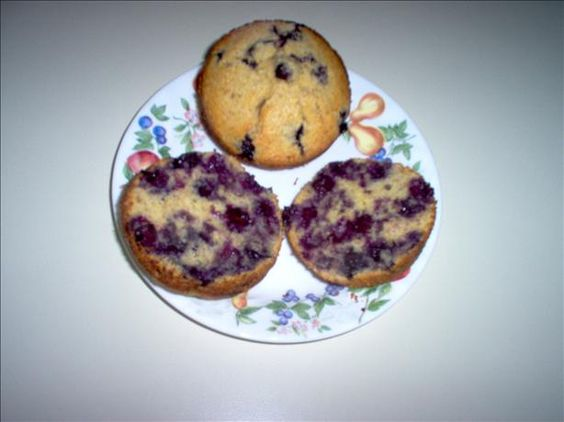 These muffins are very yummy! If you are looking for a low calorie, low saturated fat, low sodium, high in protein and need fiber, these are the muffins for you!