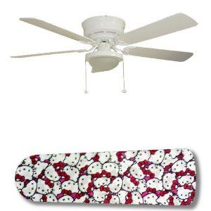 Amazon.com - New Image Concepts 3136 52 in. Ceiling Fan with Lamp - Hello Kitty Jam