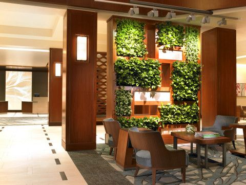 Vertical indoor gardens. #NatureInspired