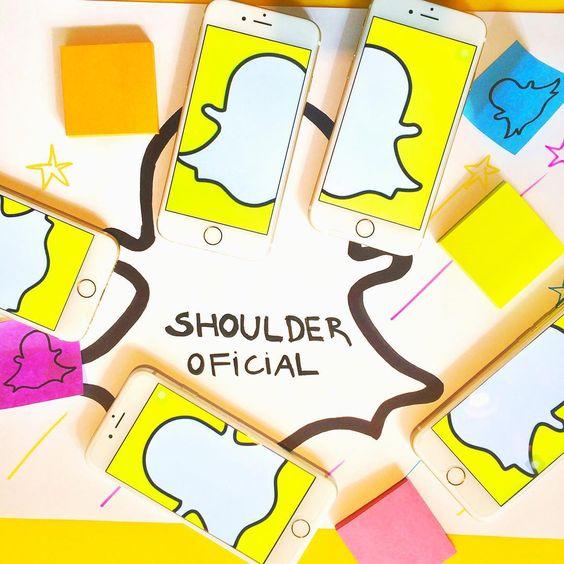 Já adicionou nosso perfil no Snapchat? #shoulderoficial #snapshoulder