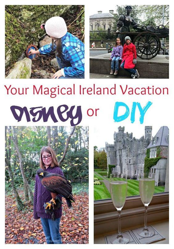 Adventures by Disney or DIY Ireland Family Vacation