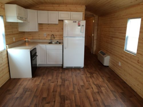 Cabin tiny house hunting cabin man cave 12x40 caves for 12x40 mobile home floor plans