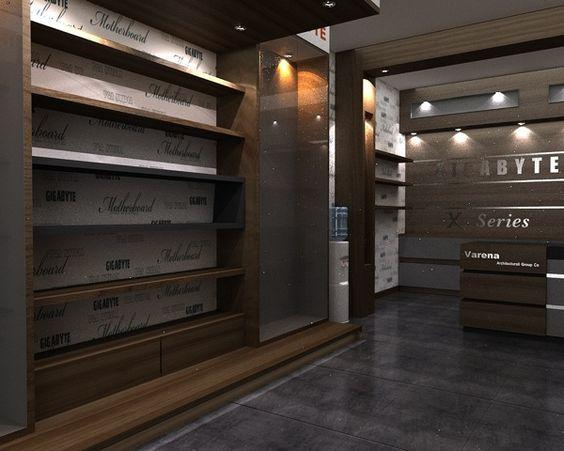 Computer Store on Behance | diseño interior de tiendas | Pinterest ...