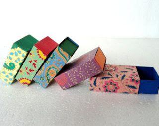 Embalagens para bijuterias e pequenos presentes