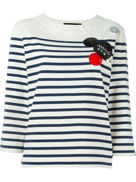 MARC BY MARC JACOBS Embellished T-Shirt. #marcbymarcjacobs #cloth #t-shirt