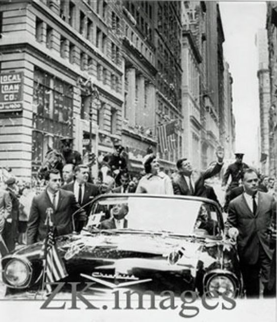 1960. 19 Octobre. New York. Jack et Jackie