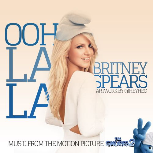 Britney Spears – Ooh La La (single cover art)