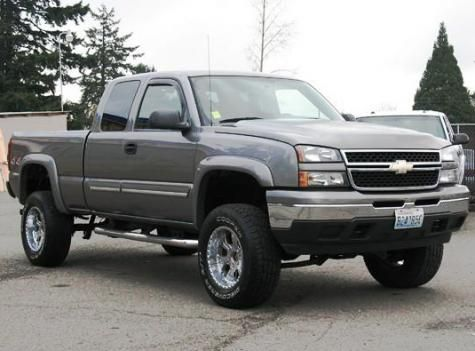 Lifted Truck Chevrolet Silverado 1500 LS Extended Cab 06