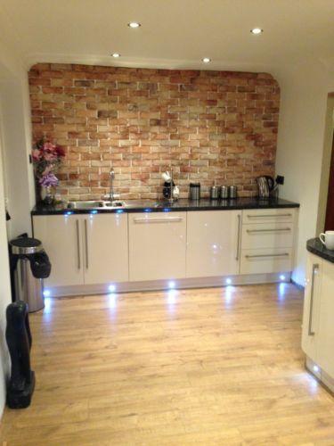 brick slips brick tiles rocky home decor pinterest. Black Bedroom Furniture Sets. Home Design Ideas