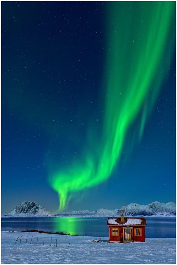 Aurora Smoke, Lofoten, Norway  #bucketlist #seeingthesebeforeidie  #adventureisoutthere ❤️