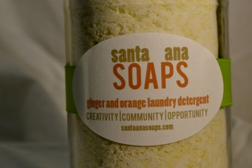 Santa Ana Soaps. Good for your clothes, your community and the world.