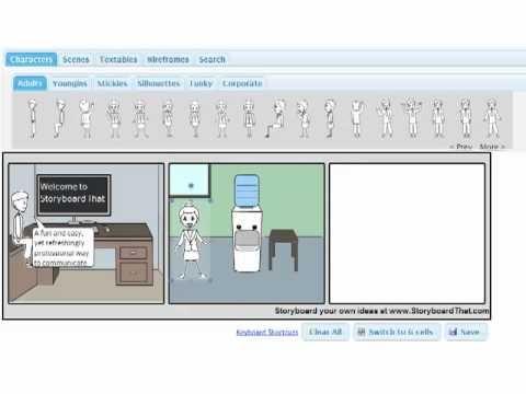 Storyboard That Intro  créer ou faire créer par les élèves des  images séquentielles ou/ et de petites histoires. Le site est en anglais mais la création est relativement facile.