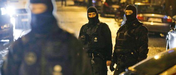 Sondereinsatzkräfte in der belgischen Stadt Vervier