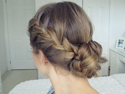 The 8 Best Hairstyles For Nursing Clinicals Clinicals Hairstyles Nursing Nurse Hairstyles Braided Bun Hairstyles Braided Hairstyles Updo