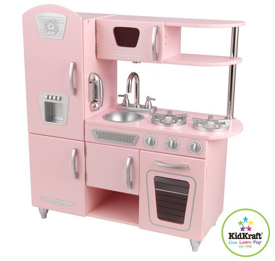 Kidkraft Pink Vintage Kitchen 53179. Our newest addition for any budding chef