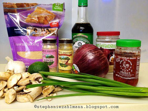Zahlmann Zoo Crew: Lean & Green: Crockpot Thai PB Chicken with Broccoli- switch the soy