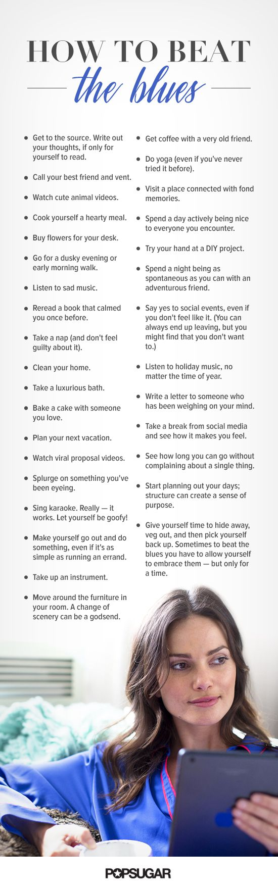 Though they're little, these tips can help you to grow out of your blues, remedy your gloom, and get you back on track toward a happy life.