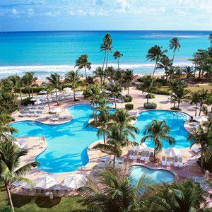 Best Beach Resorts for Families: Rio Mar Beach Golf Resort Casino & Spa, Puerto Rico (via Parents.com)