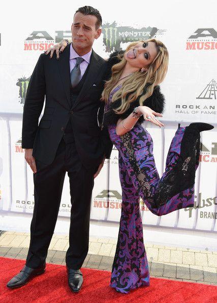 CM Punk Photos - 2014 Gibson Brands AP Music Awards - Arrivals - Zimbio