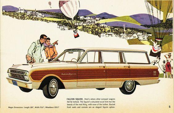 1963 Ford Falcon Squire Wagon