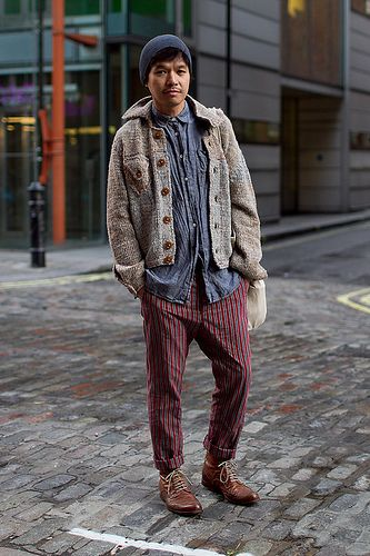 worker romantix (especially trousers, partly shoes) - London: