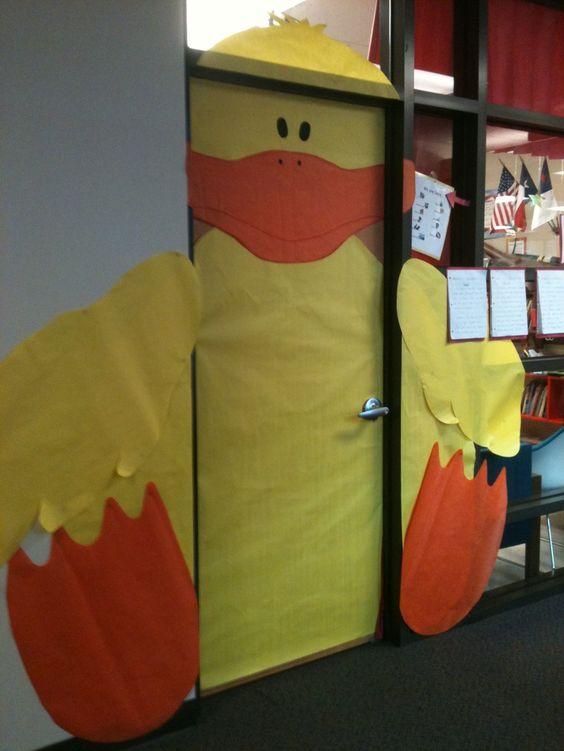 Classroom Ideas For Easter : Easter doors door decoration for classroom