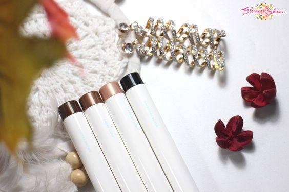Shade L-R: Copper Brown, Creme Gold, Harvest Gold, Black Charcoal