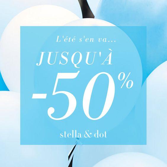 Les soldes d'été commencent sur notre boutique Prix Doux, ne perdez pas une seconde !! www.stelladot.fr/zabou #zabou #stelladot #soldes #bijoux #été #folie #2016