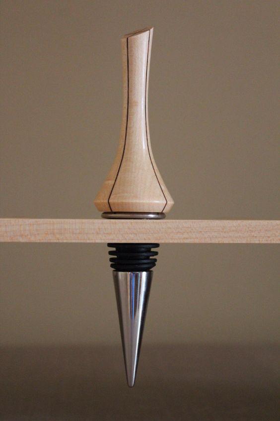 Knottybits Woodturning- Wine Stopper