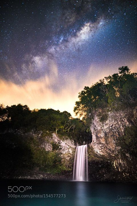 Stars Falls  Cascade Bassin La Paix  Milky Way Over La Paix Basin Reunion Island  Camera: NIKON D810 Focal Length: 20mm Shutter Speed: 25sec Aperture: f/1.4 ISO/Film: 3200  Image credit: http://ift.tt/253AkD9 Visit http://ift.tt/1qPHad3 and read how to see the #MilkyWay  #Galaxy #Stars #Nightscape #Astrophotography