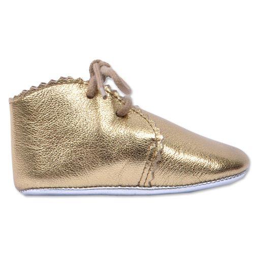 Li-Li golden baby shoes