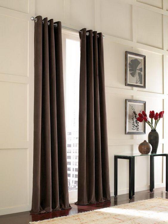 las mejores ideas en cortinas para las ventanas de la sala