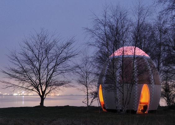 Fire Shelter 01 temporary hut by SHJWorks: