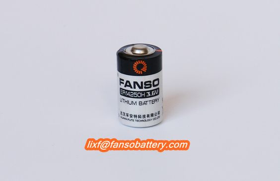 3.6V 1/2AA  ER14250 lithium battery  Saft LS14250 alternative