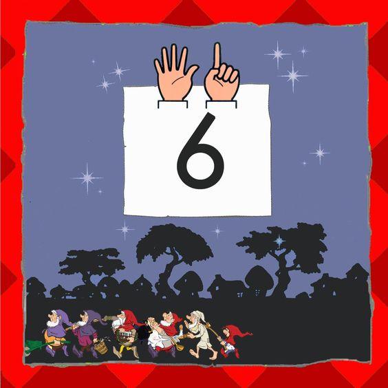 Cijferkaart: 6