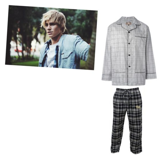 """Garroth's Sleepwear"" by cadenzieishlyfux3 on Polyvore featuring OTIS BATTERBEE, Concepts Sport, men's fashion and menswear"