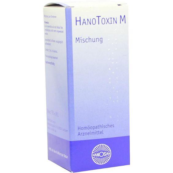 HANOTOXIN M flüssig:   Packungsinhalt: 50 ml Flüssigkeit PZN: 02945839 Hersteller: HANOSAN GmbH Preis: 7,33 EUR inkl. 19 % MwSt. zzgl.…